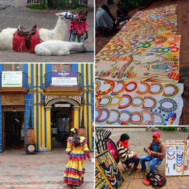 Place du musée de l'or, Bogota