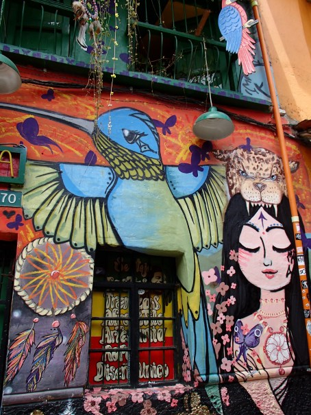 street art, Candelaria