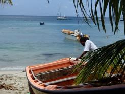 Anses d'Arlet pêcheur