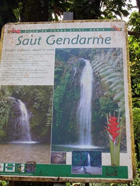 Cascade du saut Gendarme