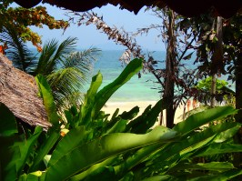 @pink.turtle.blog/ Vue de notre bungalow (Koh Phi Phi)
