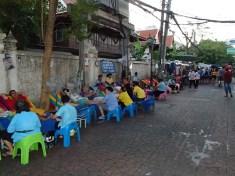 Massages à la chaîne, Kao San Road