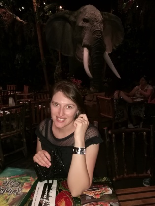 Dîner au Rainforest Café