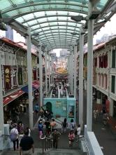 Chinatown, sortie du métro