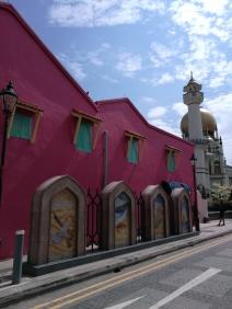 Entrée de Sultan Mosque