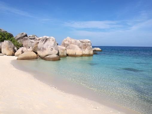 plage de Teluk Keke, Besar