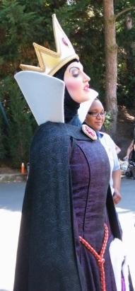 la Reine (Blanche Neige)