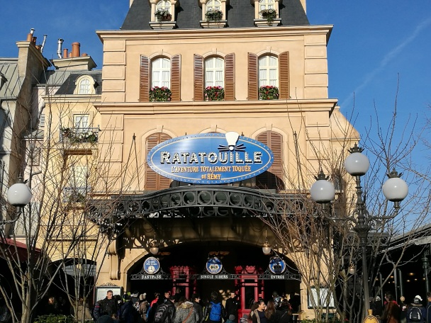 Entrée, attraction Ratatouille