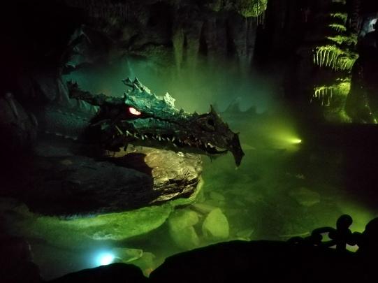 le dragon (château de la Belle au bois dormant)