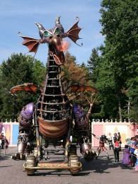 le dragon de la Belle au bois dormant