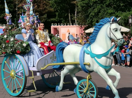 Cendrillon parade 2017