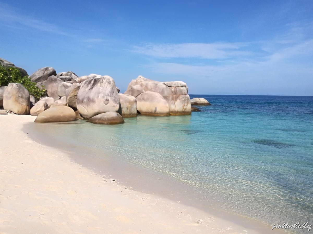 Teluk Keke, îles Perhentian @pinkturtle.blog