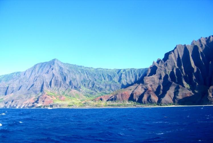 Côte de Napali, Hawaï