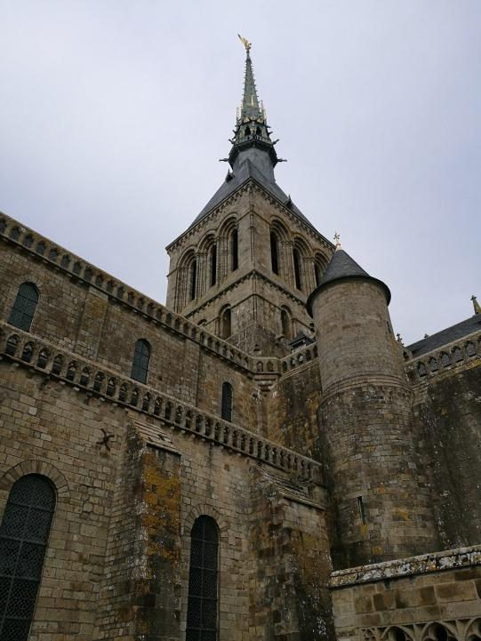 Sommet de l'abbaye