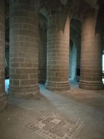 crypte des gros piliers