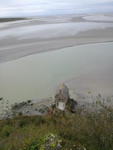 vue depuis l'église abbatiale