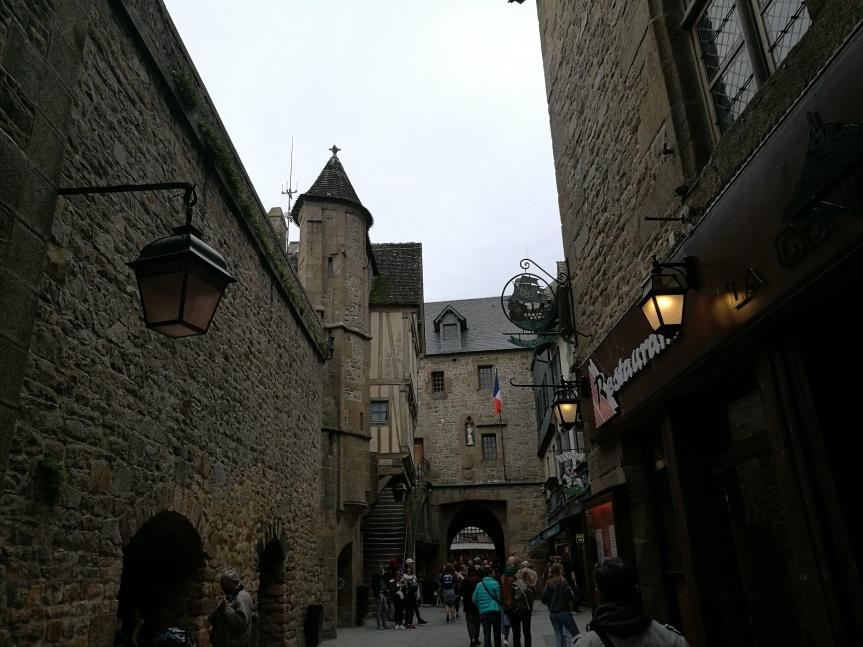 Entrée du mont saint-Michel