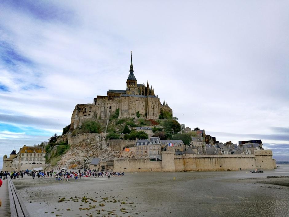 Mont Saint-Michel @pinkturtle