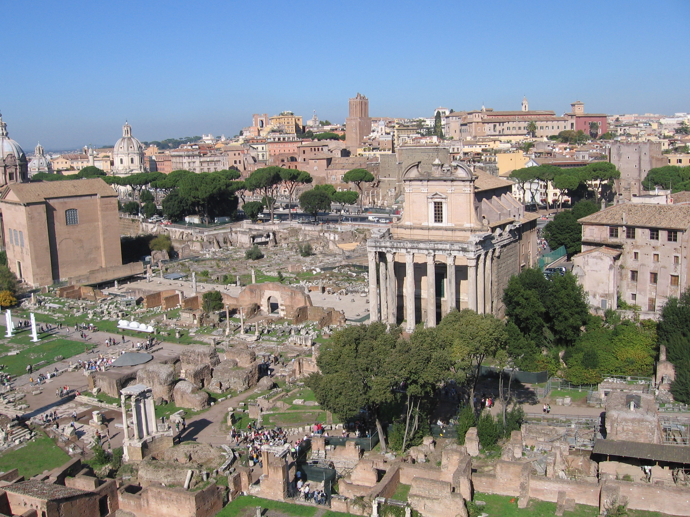 Rome, forum
