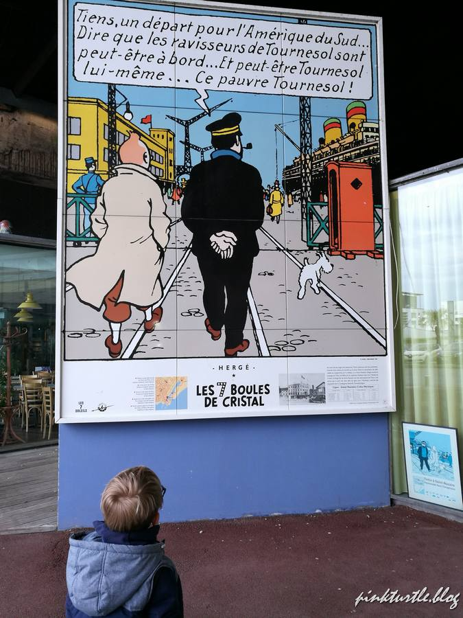 Parcours Tintin, St Nazaire @pink.turtle.blog