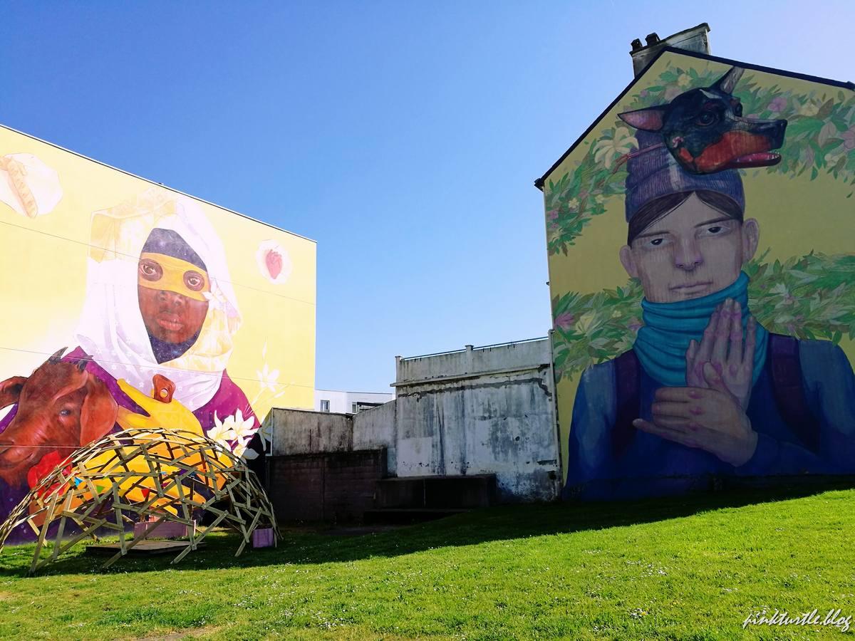 Street-art du Petit Maroc @pink.turtle.blog