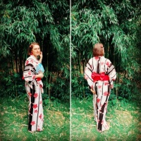 "Passion Japon 2018 (Nantes) : ma séance photo en ""yukata""!"