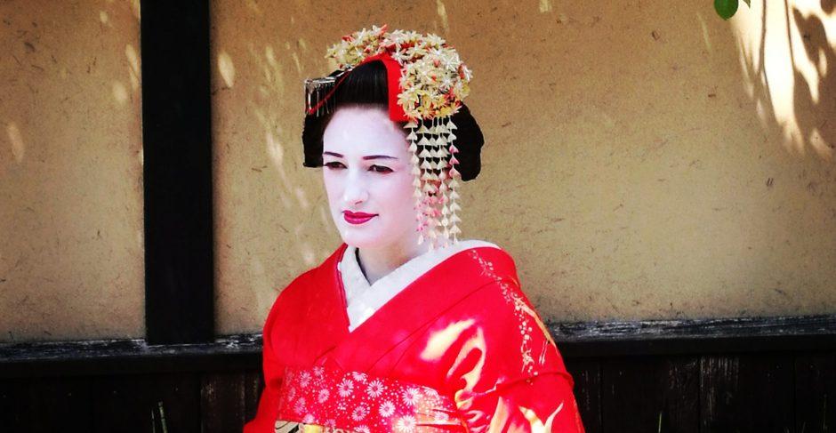 maiko dress up, Kyoto/ @pink.turtke.blog