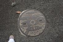 Plaque d'égout, Tokyo/ @pink.turtle.blog