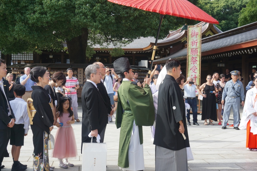 Mariage traditionnel, Yoyogi, Tokyo/ @pink.turtle.blog
