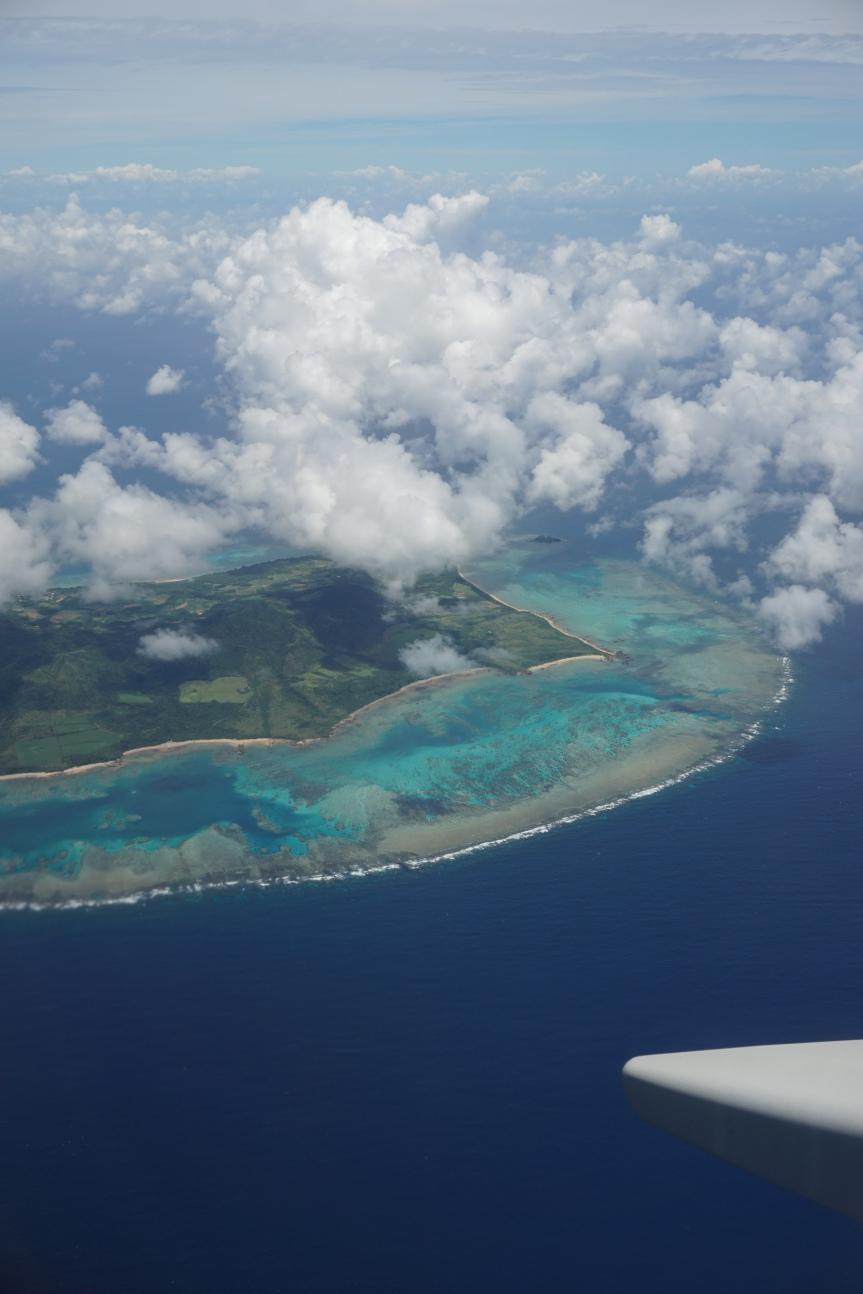 Ishigakijima, vue aérienne/ @pink.turtle.blog