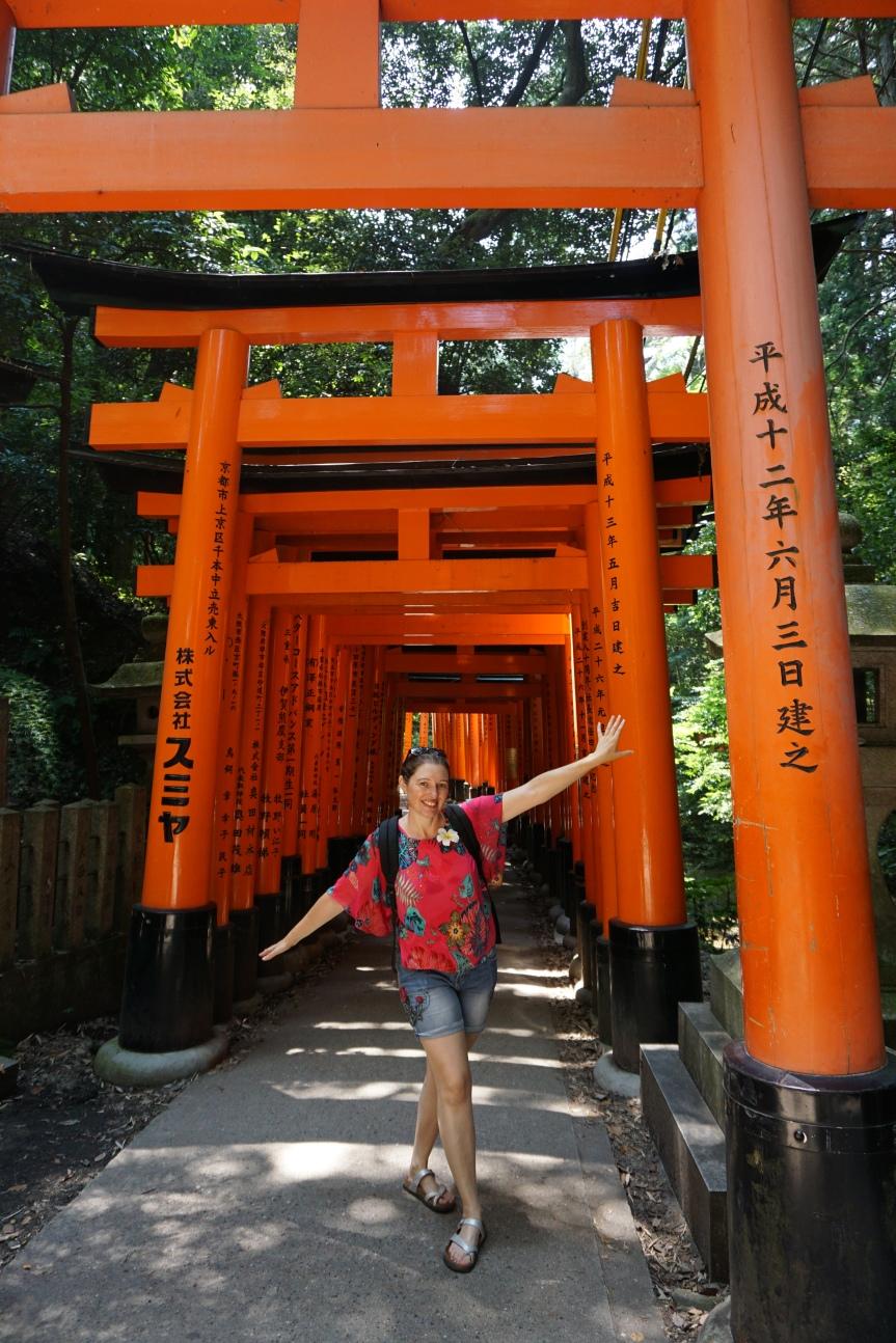 Fushimi Inari, Kyoto/ @pink.turtle.blog