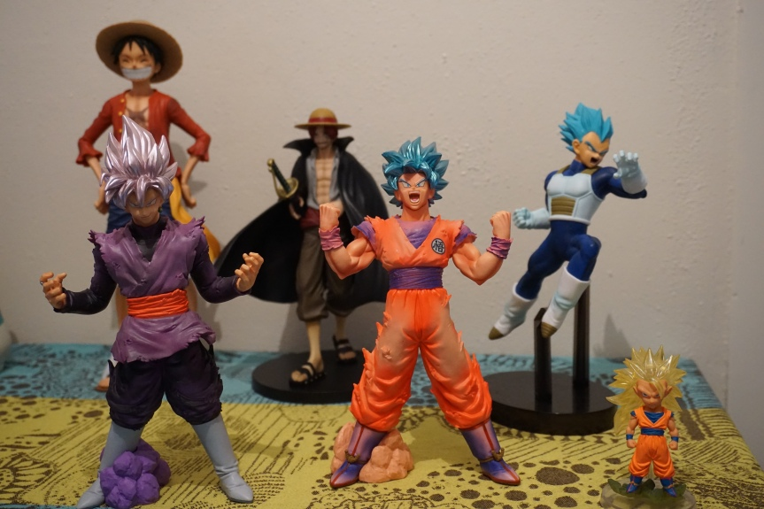 "Nos achats ""Dragon ball""/ @pink.turtle.blog"