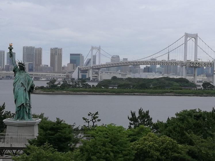 Statue de la liberté, Odaiba/ @pink.turtle.blog
