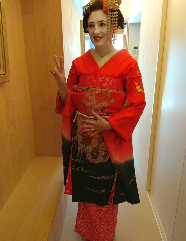 Maïko (photo prise par mon compagnon)/ @pink.turtle.blog