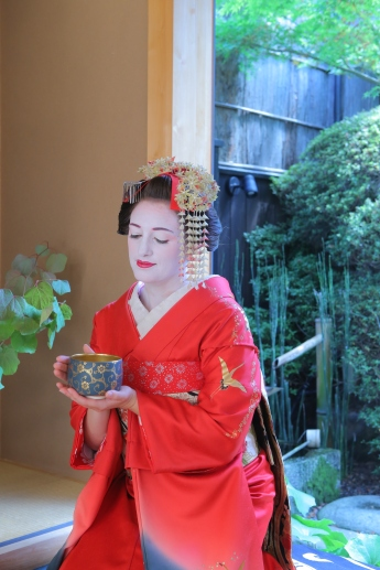 Maiko dress up, Kyoto/ pink.turtle.blog