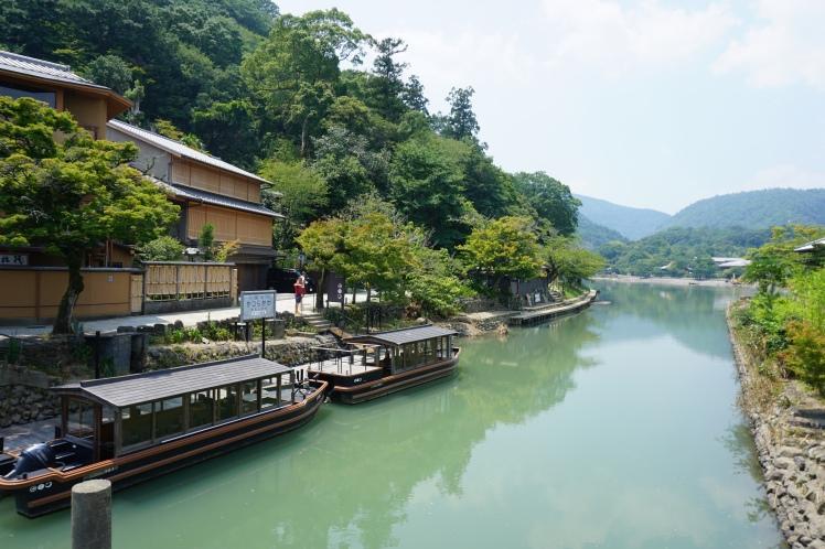 La rivière Hozu/ @pink.turtle.blog