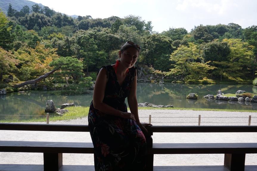 Jardin du temple Tenryu-ji/ @pink.turtle.blog