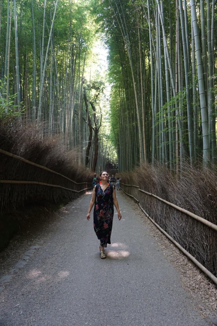 Bambouseraie d'Arashiyama/ @pink.turtle.blog