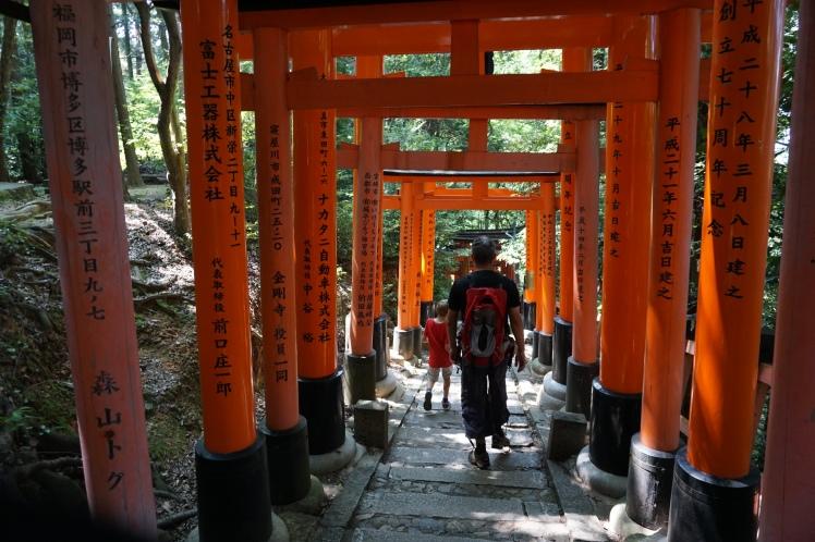 Randonnée Fushimi Inari/ @pink.turtle.blog