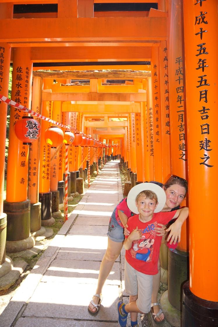 Fin de la randonnée Fushimi Inari/ @pink.turtle.blog