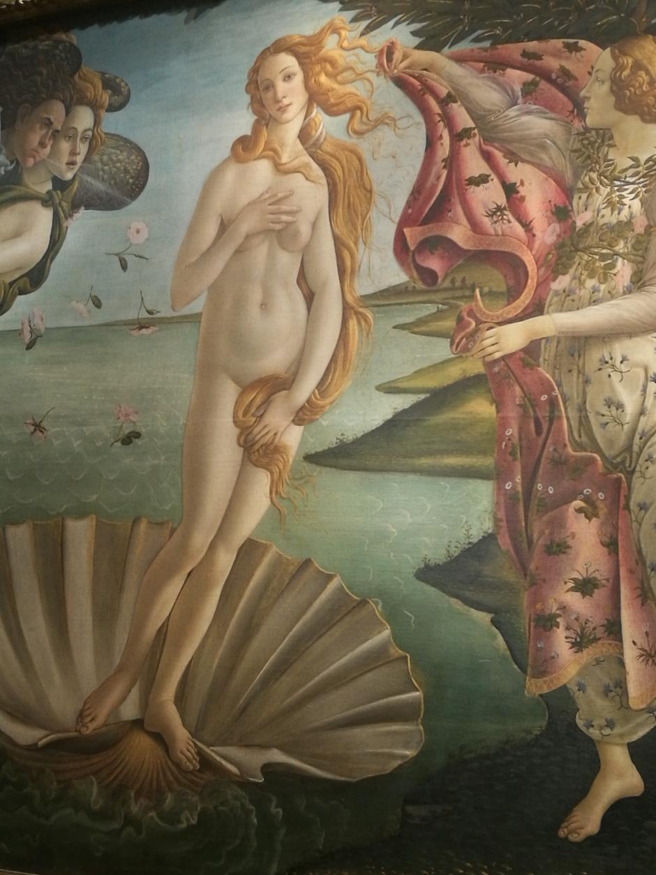 Naissance de Vénus, Botticelli/ @pink.turtle.blog