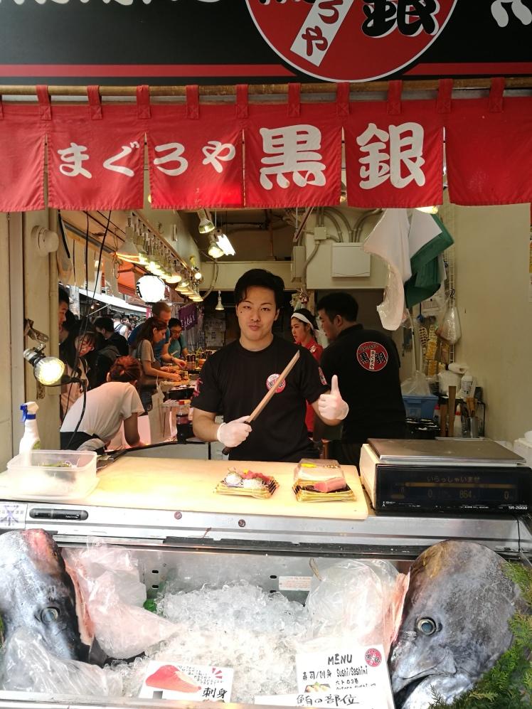 Tsukiji market, Tokyo/ @pink.turtle.blog