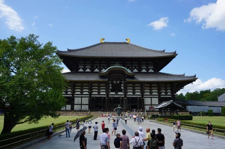 Le temple Todai-ji, Nara/ @pink.turtle.blog