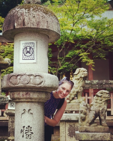 Tamukeyama Hachimangu Shrine/ @pink.turtle.blog