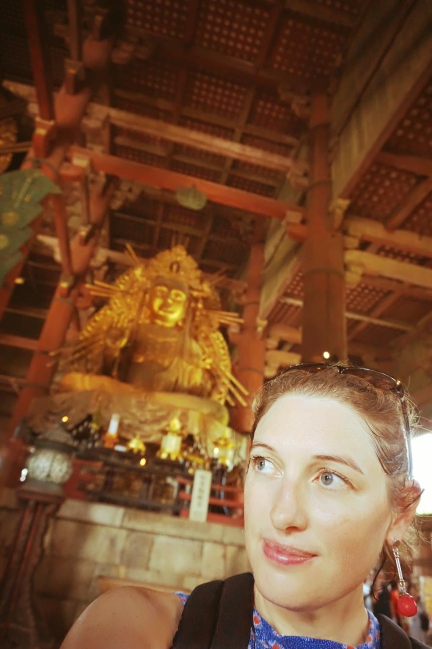 Statue de Bouddha, Todai-ji, Nara/ @pink.turtle.blog