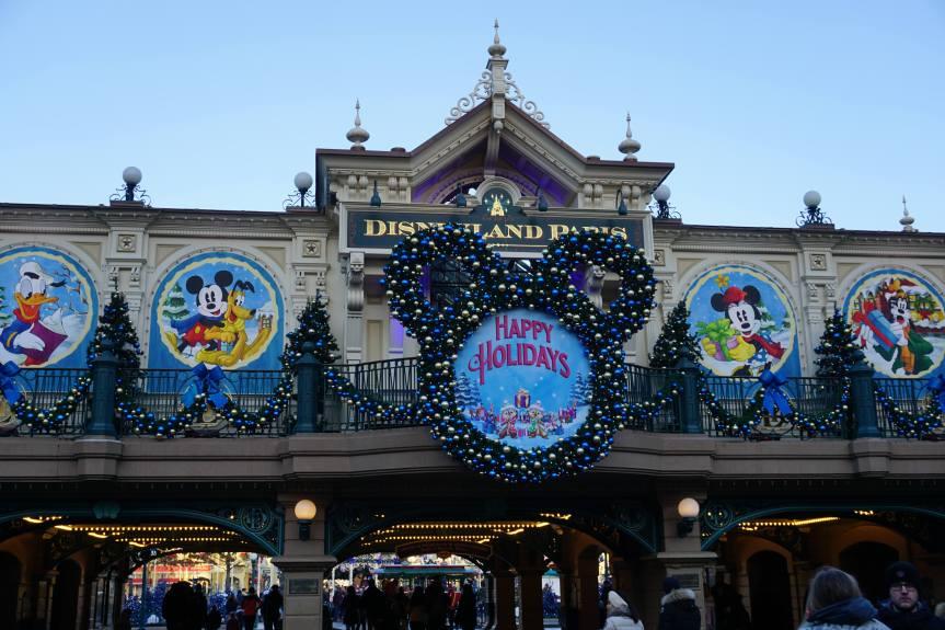 Entrée du parc Disneyland