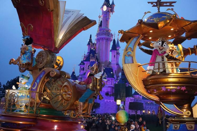 Grande parade, parc Disney