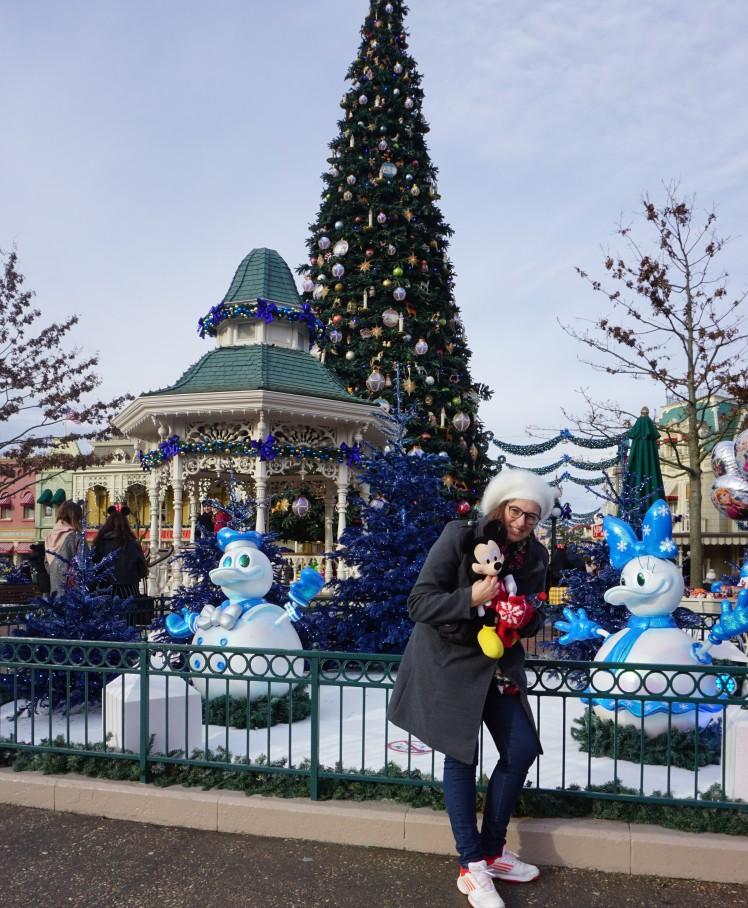Entrée du parc Disney