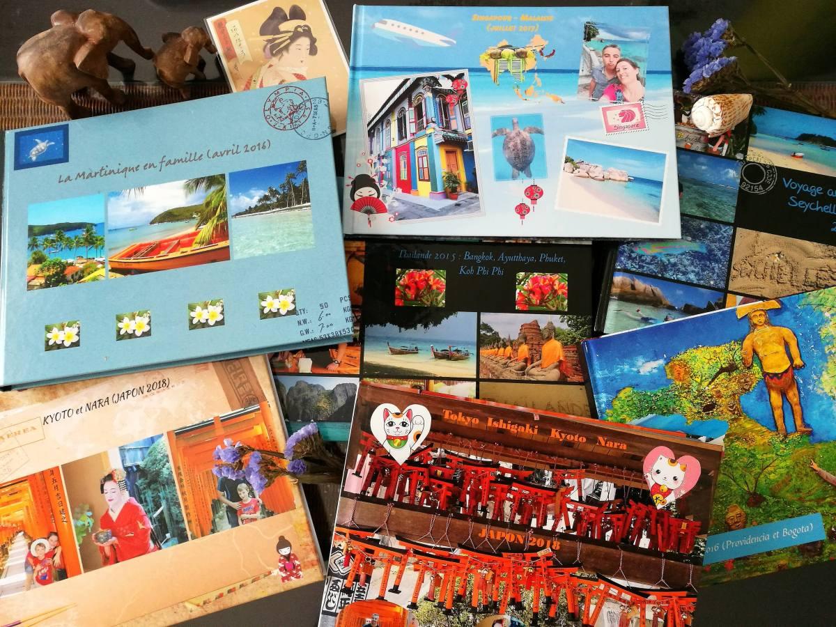 Souvenirs de voyage : quel site choisir pour votre album photo?