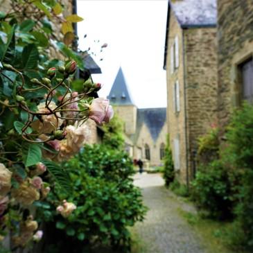 L'Eglise de Rochefort-en-terre @pink.turtle.blog